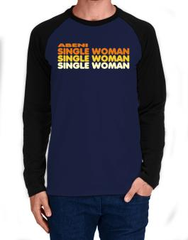Abeni Single Woman Long-sleeve Raglan T-Shirt