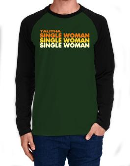 Talitha Single Woman Long-sleeve Raglan T-Shirt