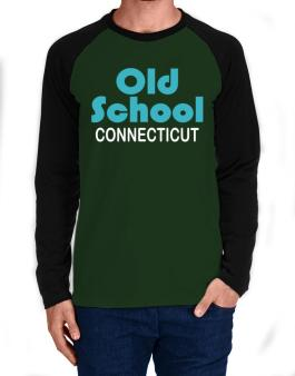 Old School Connecticut Long-sleeve Raglan T-Shirt