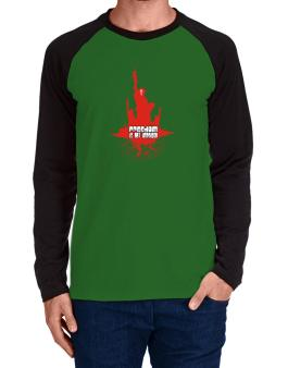 Freedom Is Not Impaired Long-sleeve Raglan T-Shirt