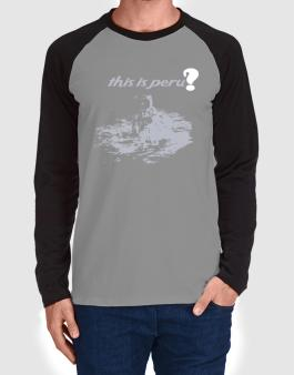 Raglan Manga Larga de This Is Peru? - Astronaut