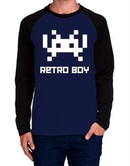 Raglan Manga Larga de Retro Boy