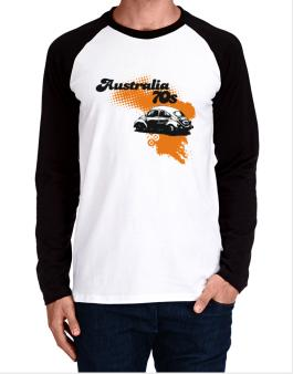 Australia 70s Long-sleeve Raglan T-Shirt