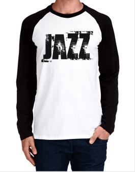 Jazz - Simple Long-sleeve Raglan T-Shirt