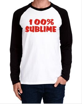 100% Sublime Long-sleeve Raglan T-Shirt
