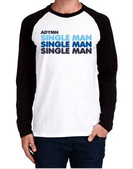 Adymn Single Man Long-sleeve Raglan T-Shirt