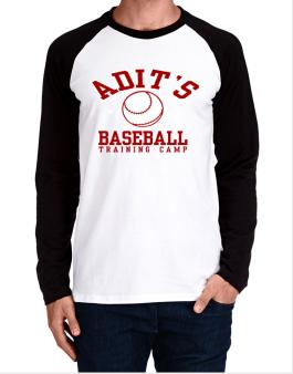 Adits Baseball Training Camp Long-sleeve Raglan T-Shirt