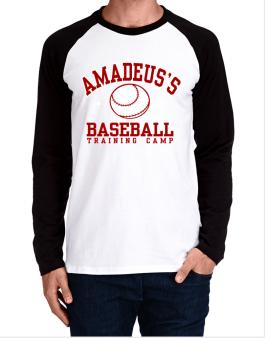 Amadeuss Baseball Training Camp Long-sleeve Raglan T-Shirt
