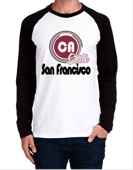 San Francisco - State Long-sleeve Raglan T-Shirt