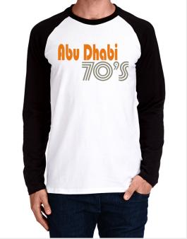 Abu Dhabi 70s Retro Long-sleeve Raglan T-Shirt
