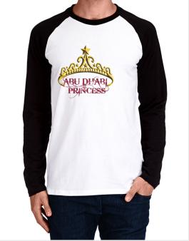 Abu Dhabi Princess Long-sleeve Raglan T-Shirt