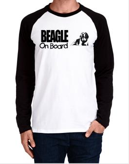 Beagle On Board Long-sleeve Raglan T-Shirt