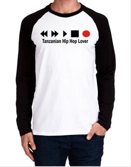 Tanzanian Hip Hop Lover Long-sleeve Raglan T-Shirt