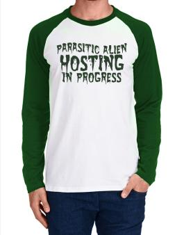 Parasitic Alien Long-sleeve Raglan T-Shirt