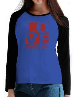 Love Cymric T-Shirt - Raglan Long Sleeve-Womens