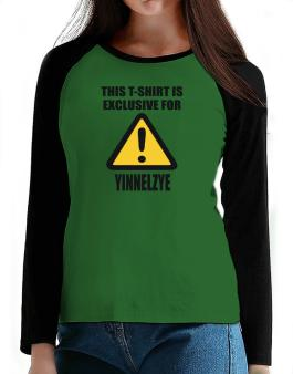 This T-shirt Is Exclusive For Yinnelzye T-Shirt - Raglan Long Sleeve-Womens