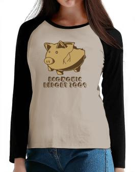 Economic Report 2009 T-Shirt - Raglan Long Sleeve-Womens