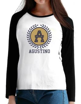 Agustino - Laurel T-Shirt - Raglan Long Sleeve-Womens