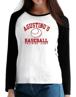 Agustinos Baseball Training Camp T-Shirt - Raglan Long Sleeve-Womens