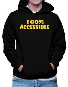 100% Accessible Hoodie