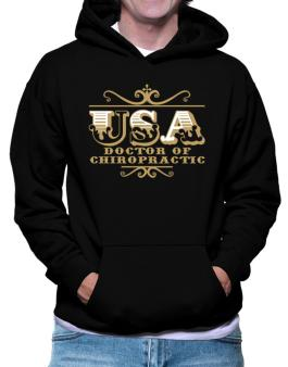 Usa Doctor Of Chiropractic Hoodie
