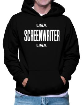 Usa Screenwriter Usa Hoodie