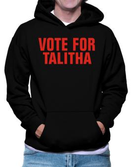 Vote For Talitha Hoodie
