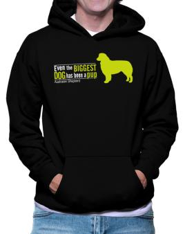 Even The Biggest Dog Has Been A Pup - Australian Shepherd Hoodie