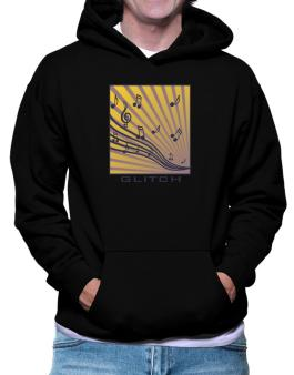 Glitch - Musical Notes Hoodie