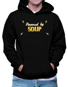 Powered By Soup Hoodie