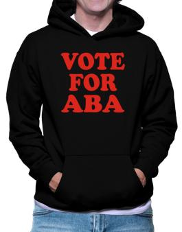 Vote For Aba Hoodie