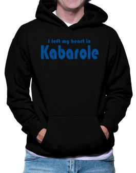 I Left My Heart In Kabarole Hoodie