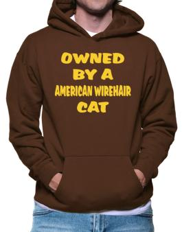 Owned By S American Wirehair Hoodie