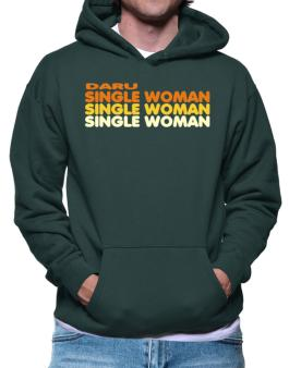 Daru Single Woman Hoodie