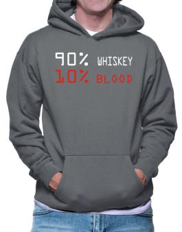 90% Whiskey 10% Blood Hoodie