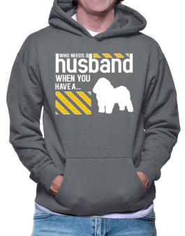 Who Needs A Husband When You Have A ... Bolognese Hoodie
