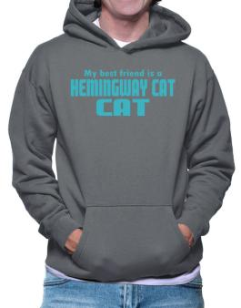 My Best Friend Is A Hemingway Cat Hoodie