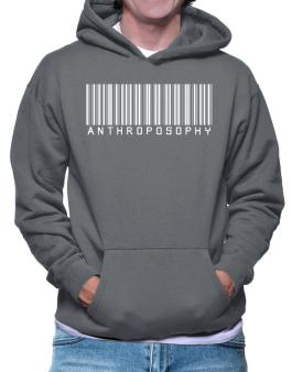 Anthroposophy - Barcode Hoodie