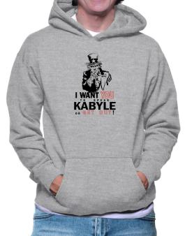 I Want You To Speak Kabyle Or Get Out! Hoodie