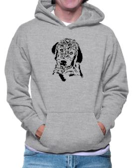 Labradoodle Face Special Graphic Hoodie