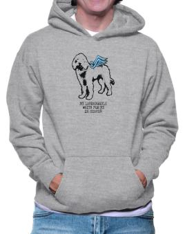 My Labradoodle Waits For Me In Heaven Hoodie