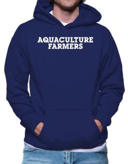 Aquaculture Farmers Simple Hoodie