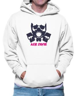Aide Zone - Gas Mask Hoodie