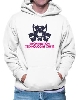 Information Technologist Zone - Gas Mask Hoodie