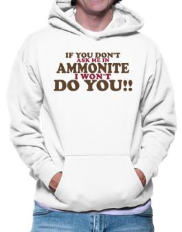 If You Dont Ask Me In Ammonite I Wont Do You!! Hoodie