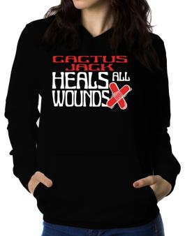 Cactus Jack Heals All Wounds Women Hoodie
