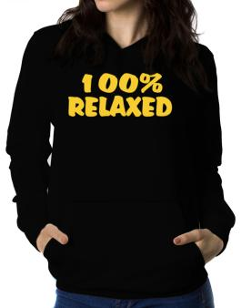 100% Relaxed Women Hoodie
