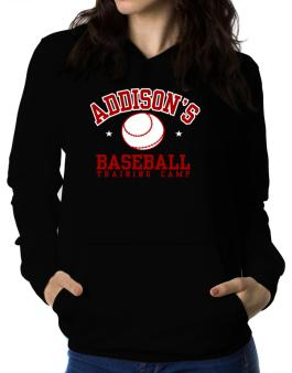 Addisons Baseball Training Camp Women Hoodie
