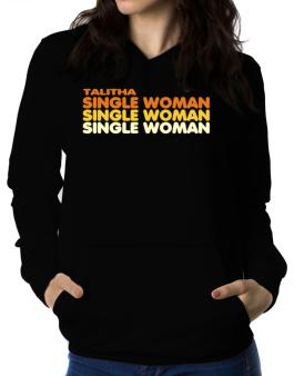 Talitha Single Woman Women Hoodie