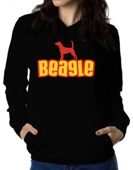 Breed Color Beagle Women Hoodie